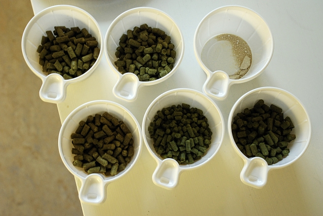 Hops on parade